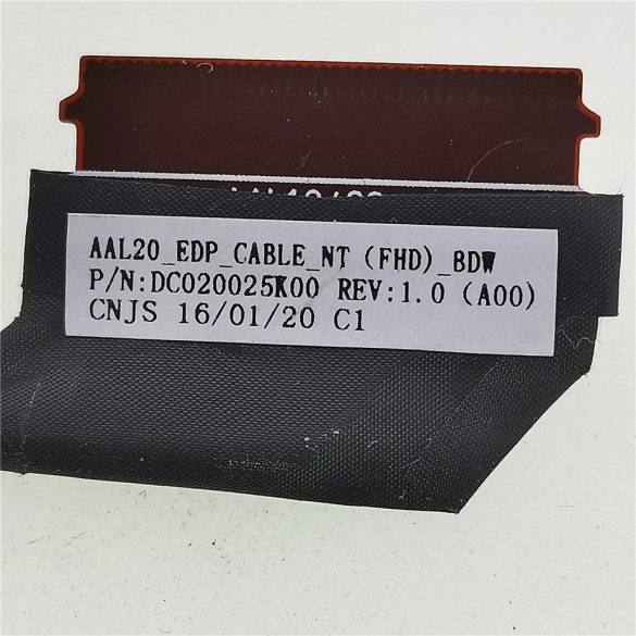 DE04 - Dell Inspiron 5555, 5558, 5559, 3459, Vostro 3558  videó kábel EDP 30 pin (DC020025K00, 0KNG43)