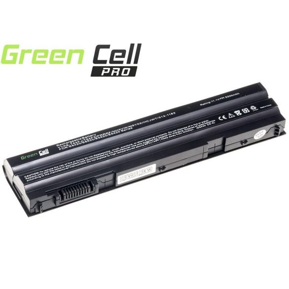 Green Cell PRO akku Dell Latitude  E5520 E6420 E6520 E6530 / 11,1V  5200mAh
