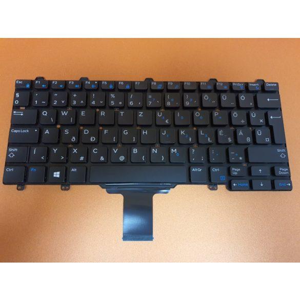 DE06 - klaviatúra  magyar HU fekete (Latitude E5250, E5270, E7250, E7270)