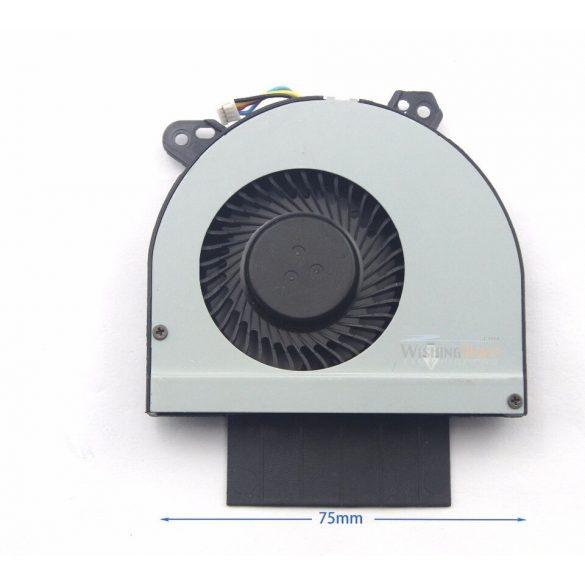 DE07 - CPU hűtő ventilátor Latitude E6520