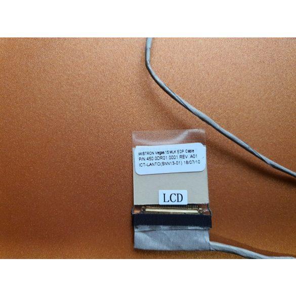 DE08 - Inspiron 3576, 3573, Vostro 3578  videó kábel EDP 30 pin (08M5Y7)