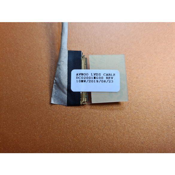 DE09 - Inspiron 3521, 3537, 5521, 5535, 5537 videó kábel  LVDS 40 pin 0DR1KW (Full HD)