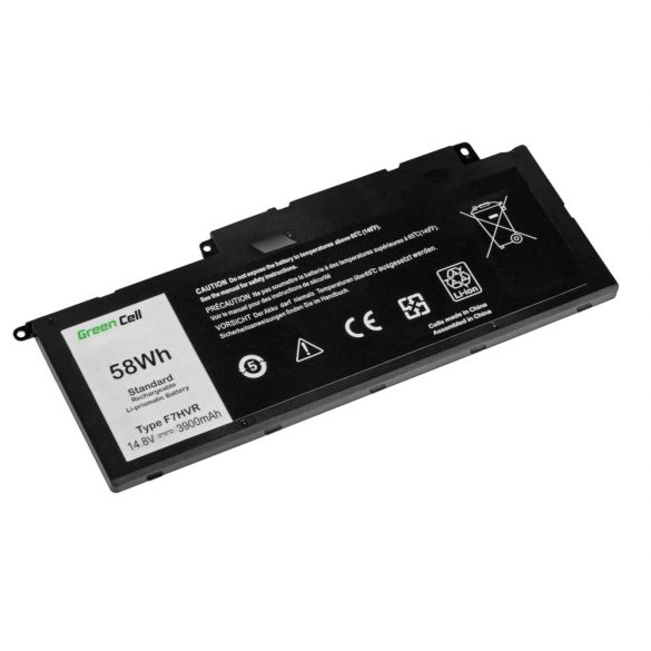 Green Cell akku Dell Inspiron 15 7537 17 7737 7746 / 14,4V 3800mAh
