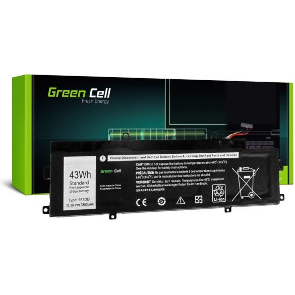 Green Cell akku Dell Chromebook 11 3120 / 11,1V 4000mAh