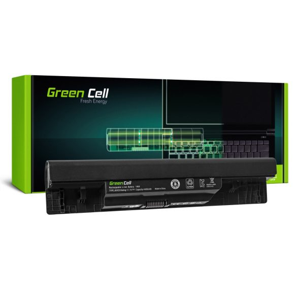 Green Cell akku Dell Inspiron 14 1464 15 1564 17 1764 / 11,1V 4400mAh