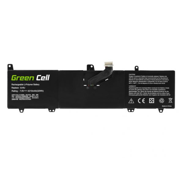 Green Cell akku Dell Inspiron 11 3162 3164 3168 3169 3179 3180 3185 0JV6J