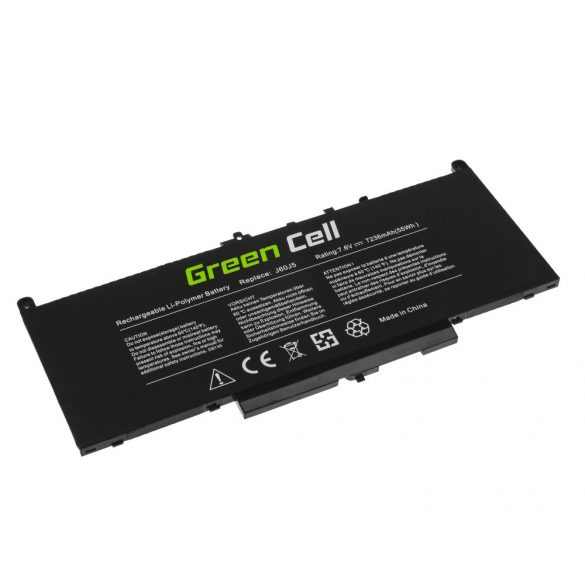 Green Cell akku Dell Latitude E7270 E7470 5800mAh J60J5