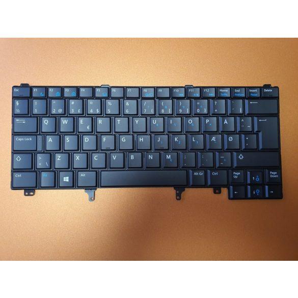 DE18 - klaviatúra  skandináv SKN, fekete (Latitude E5420, E5430, E6220, E6230, E6320, E6330...)