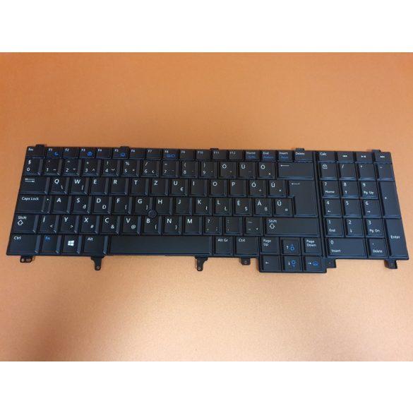DE20 - klaviatúra magyar HU, fekete világító (Latitude E5520, E5530, E6520, E6530, E6540, M4600 M4700)