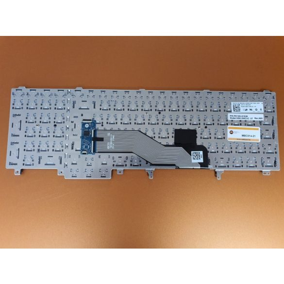 DE20 - klaviatúra török TR, fekete (Latitude E5520, E5530, E6520, E6530, E6540, M4600 M4700)