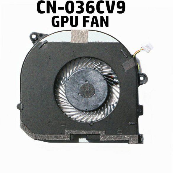DE20A - GPU hűtő ventilátor XPS 15 9550, Precision 5510 (036CV9)