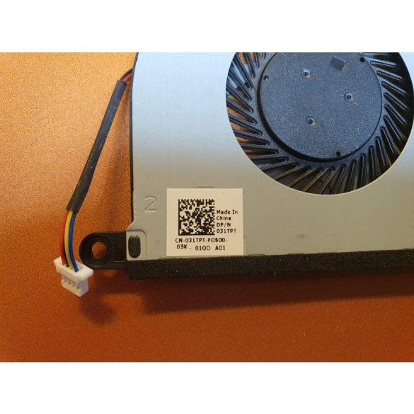 DE21 - CPU hűtő ventilátor Inspiron 5368, 5378, 5568, 5578, 7368, 7378, 7569, 7579 (031TPT)