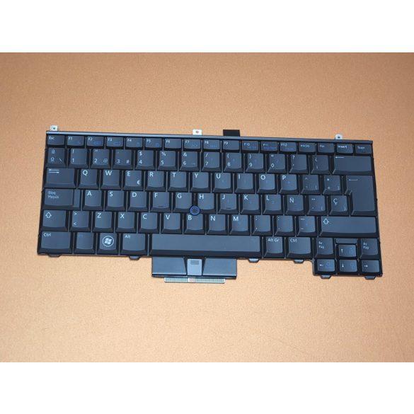 DE23 - klaviatúra spanyol SP, fekete (Latitude E4300, E4310)