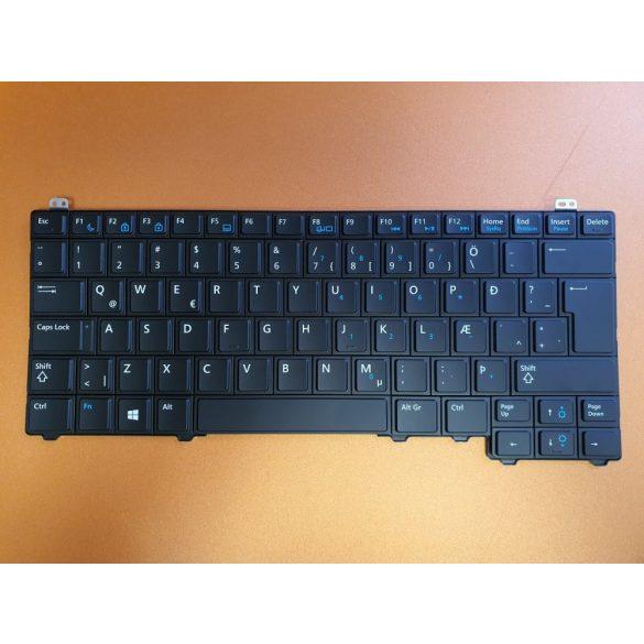 DE26 - klaviatúra izlandi IS, fekete (Latitude E5440)