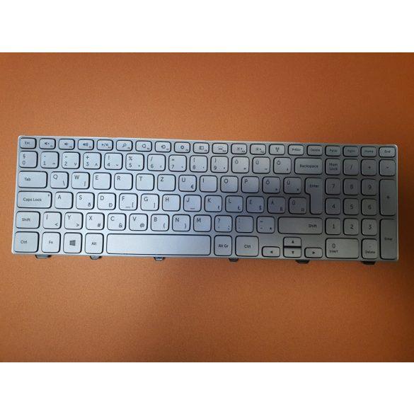 DE27 - klaviatúra magyar HU, ezüst világító (Inspiron 7537)