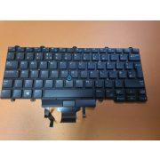 DE29 - klaviatúra angol UK fekete, világító (Latitude E5450, E5470, E5480, E7450, E7470, 7480)