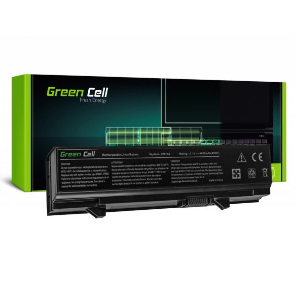 Green Cell akku Dell Latitude E5400  E5410 E5500 E5510 / 11,1V 4400mAh