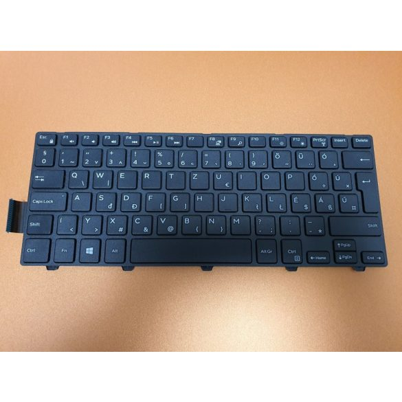 DE31 - klaviatúra magyar HU, fekete (Inspiron 3441, 3442, 3443, 3451, 3452, 3458)