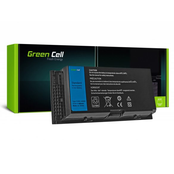 Green Cell akku Dell Precision M4600  M4700 M4800 M6600 M6700 / 11,1V  4400mAh