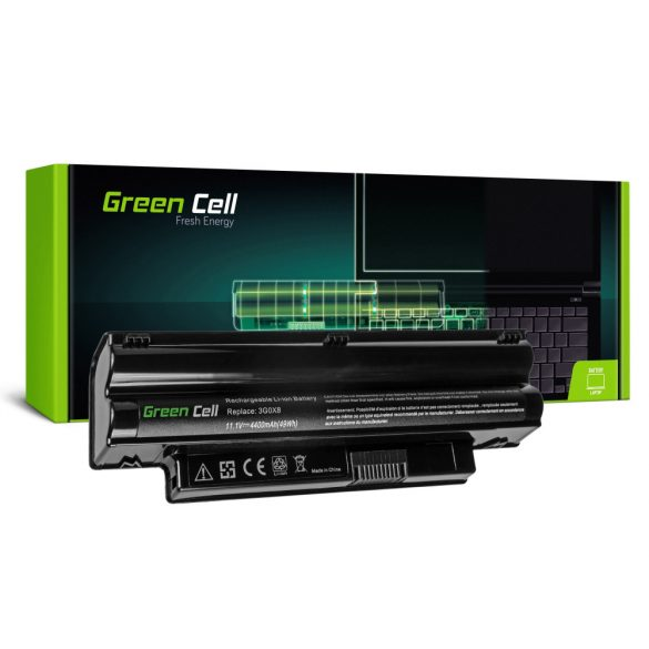 Green Cell akku Dell Inspiron Mini  1012 1018 / 11,1V 4400mAh