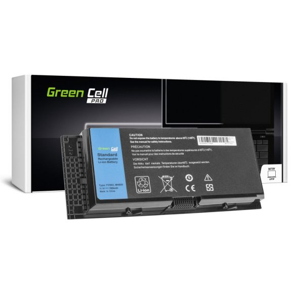 Green Cell PRO akku Dell Precision  M4600 M4700 M4800 M6600 M6700 / 11,1V  7800mAh