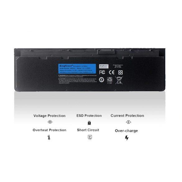 KingSener akku Dell Latitude E7240 E7250 / 7,4V 6100mAh