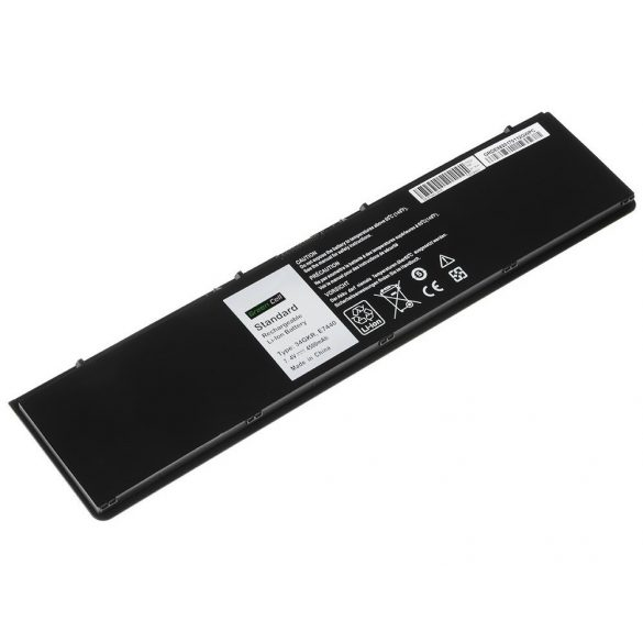 Green Cell akku Dell Latitude E7440 / 7,4V 4500mAh