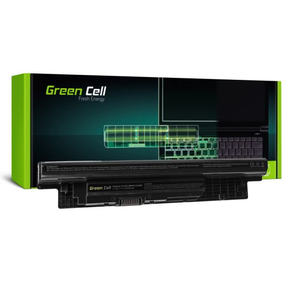 Green Cell akku Dell Inspiron 3521  5521 5537 5721 / 11,1V 2200mAh