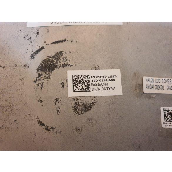 Latitude E6510 kijelző fedlap kerettel, zsanérral, LCD kábellel 0NTY6V (használt)