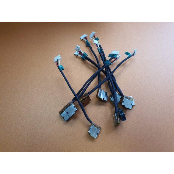 HP02 - DC aljzat vezetékkel HP 250 G4, 250 G5, 250 G6, 15-AC, 15-DA, 15-AF, Envy 15-AE (813945-001)