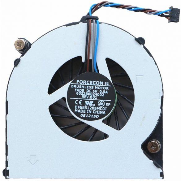 HP07 - CPU laptop hűtő ventilátor 4530S, 4730s, 6460b, 6465b, 6470b, DV4-4000, 8460p, 8460w