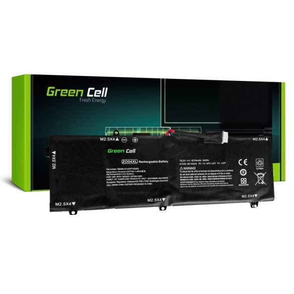 Green Cell akku HP ZBook Studio G3 / 15,2V 4210mAh
