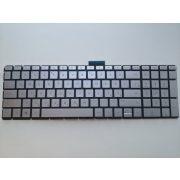HP12 - klaviatúra magyar, ezüst, világító (Pavilion Sleekbook 15-CC000, 15-CD000, 15-CK000)