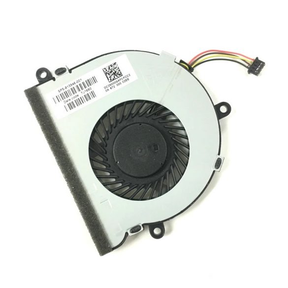 HP16 - CPU laptop hűtő ventilátor Pavilion 15-AC, 15-A,  15-AF,  15-BA, 15-BS, 15-BW, HP 250 G4, HP 250 G5, HP 250 G6