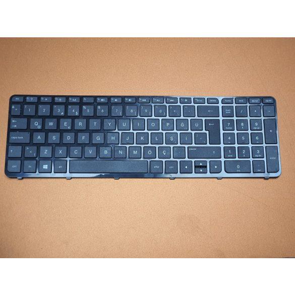 HP16 - klaviatúra török TR fekete (Pavilion 15 A-D-E-F-N-R-S, HP 250 G2, G3)
