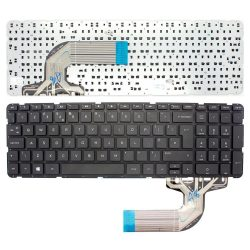HP16 - klaviatúra angol UK, fekete (Pavilion 15 A-D-E-F-N-R-S, HP 250 G2, G3)