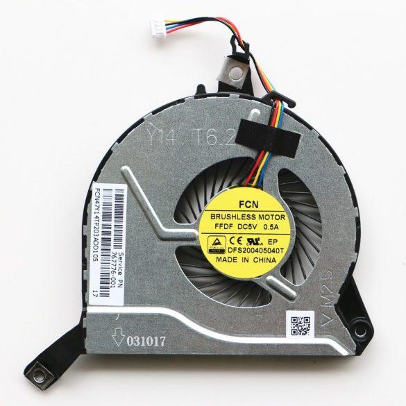 HP17 - CPU laptop hűtő ventilátor HP 15-P030NR 14-P 15-P 16-P 17-P 14-V 15-V 16-V 17-V 17-F