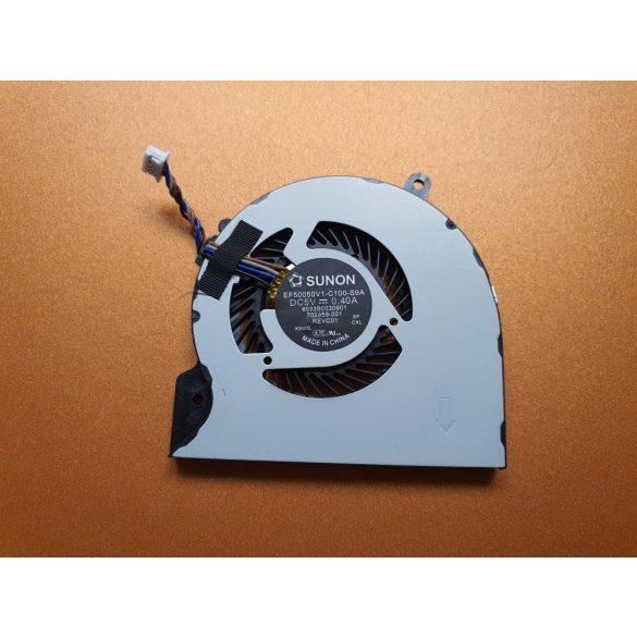 HP19 - CPU laptop hűtő ventilátor Folio 9470, 9470m, 9480, 9480m