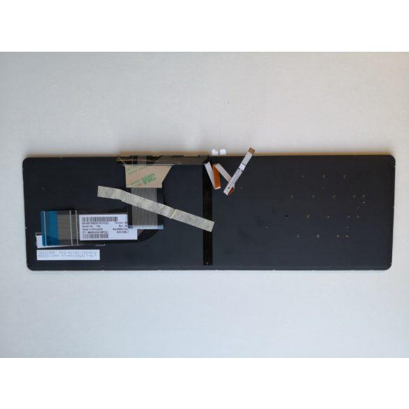 HP27 - klaviatúra svájci SW, fekete, világító (Pavilion 15-K, 15-P, 15-T, 15-V, 15-Z, 17-F)