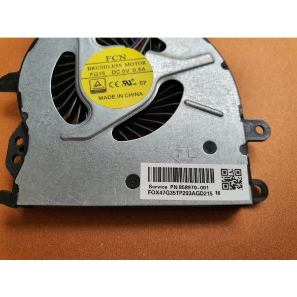 HP31 - CPU hűtő ventilátor Probook 450 G4, 455 G4, 470 G4  (905774-001)