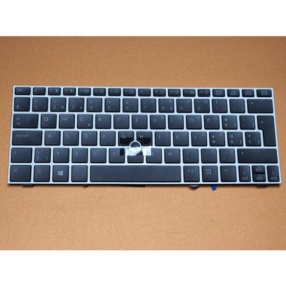 HP44 - klaviatúra svájci SW, fekete világító ( EliteBook 2170p)