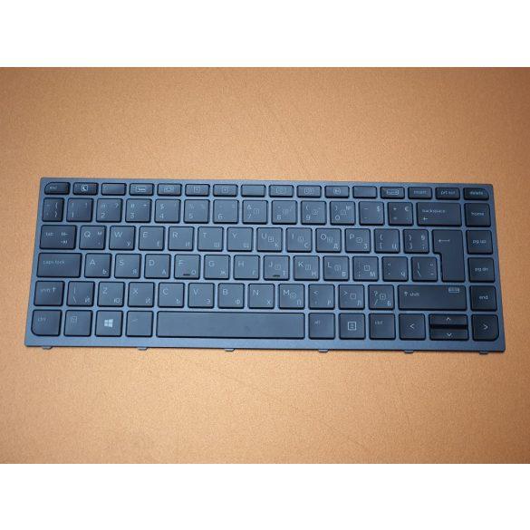 HP47 - klaviatúra bolgár BG, fekete világító, HP ZBook Studio G3, G4
