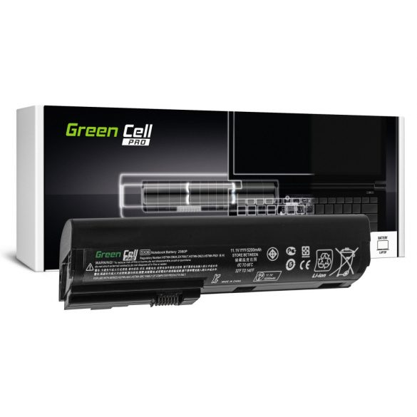 Green Cell PRO akku HP EliteBook 2560p 2570p / 11,1V 5200mAh