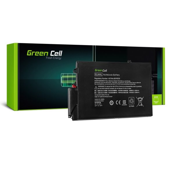 Green Cell akku HP Envy 4-1000 4-1100 4-1120EW 4-1120SW 4-1130EW 14.8V / 14,4V 3500mAh