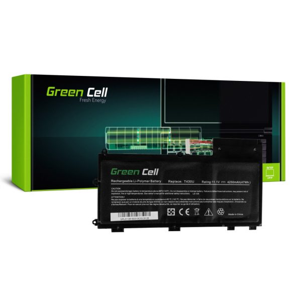 Green Cell akku Lenovo ThinkPad T430u / 11,1V 4250mAh