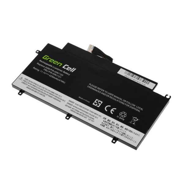 Green Cell akku Lenovo ThinkPad T431s / 11,1V 4250mAh