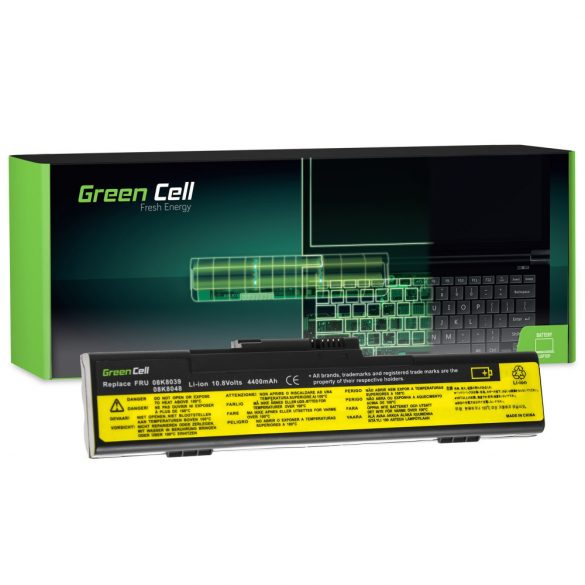 Green Cell akku Lenovo ThinkPad X30 X31 X32 / 11,1V 6600mAh