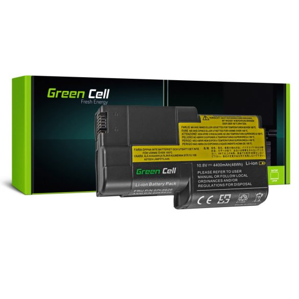 Green Cell akku Lenovo ThinkPad T20 T21 T22 T23 / 11,1V 4400mAh