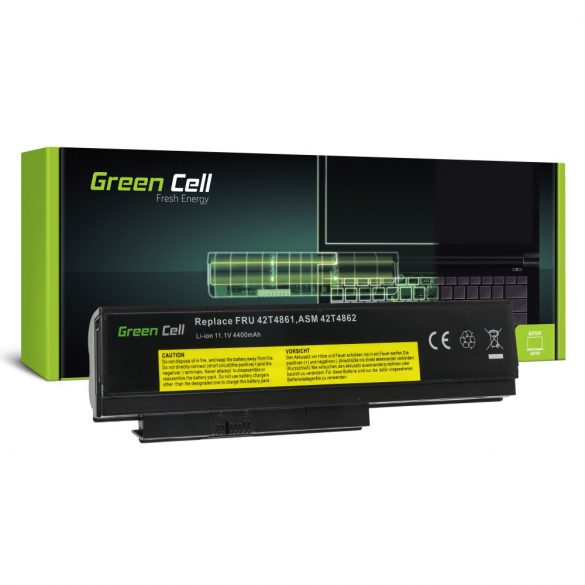 Green Cell akku Lenovo ThinkPad X220 X220i X220s / 11,1V 4400mAh