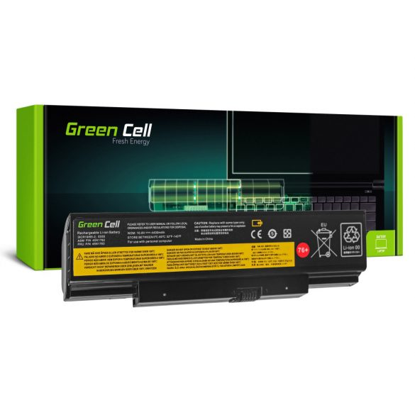 Green Cell akku Lenovo ThinkPad Edge E550 E550c E555 E560 E565 / 11,1V 4400mAh